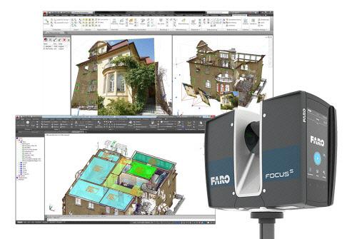 """휴스템, 3D측정기 전문 `FARO`와 계약 체결 """"광대역 3D스캐닝 솔루션 대중화를 이끈다"""""""